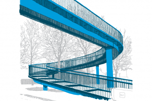 Footbridge, Stobcross Road, Glasgow