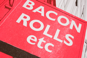 Bacon Rolls etc, Easter Road